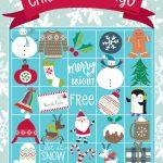 20 Free Printable Christmas Games   Christmas Celebration   All   20 Free Printable Christmas Bingo Cards