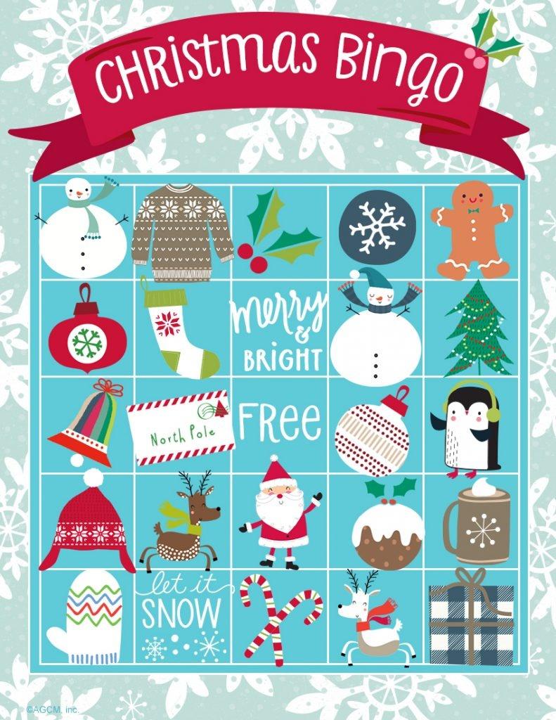 20 Free Printable Christmas Games - Christmas Celebration - All - 20 Free Printable Christmas Bingo Cards