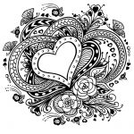 20 Free Printable Valentines Adult Coloring Pages | Coloring Pages   Free Printable Heart Coloring Pages