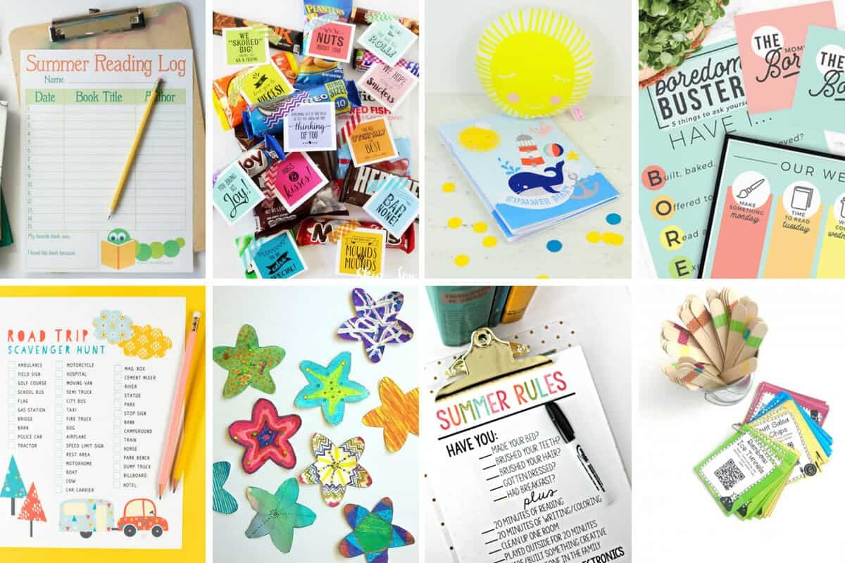 20 Free Summer Printables For Kids - 5 Minutes For Mom - Free Summer Printables
