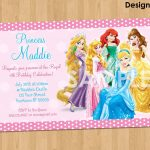 20 Ideas For Disney Princess Birthday Invitations Free Printable   Disney Princess Birthday Invitations Free Printable