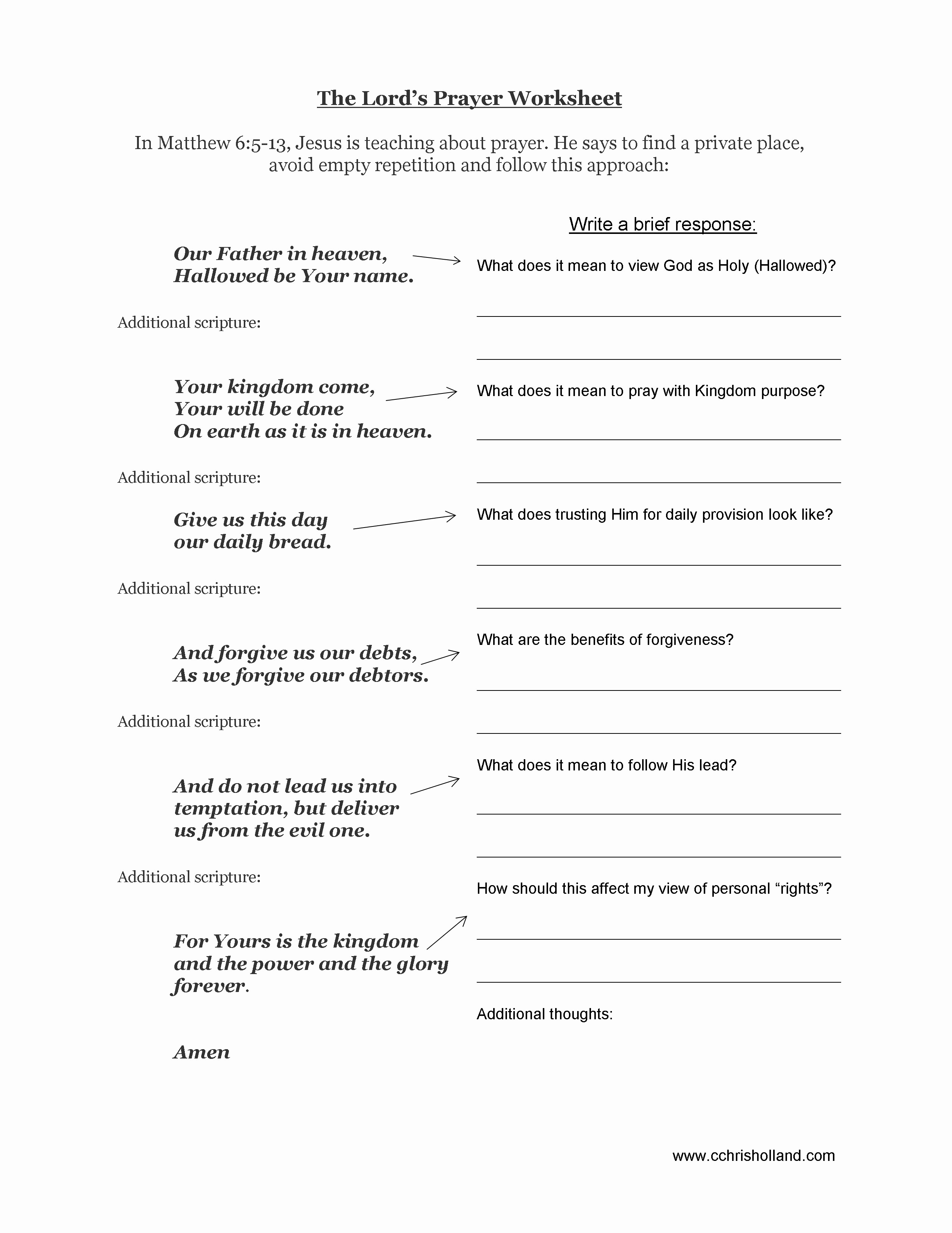 20 Printable Bible Study Worksheets – Diocesisdemonteria - Free Printable Bible Lessons For Youth