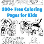 200+ Printable Coloring Pages For Kids   Frugal Fun For Boys And Girls   Free Printable Coloring Pages For Kids