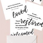 2019 You Are Loved | Set Of 8 Free Printable Bible Verse Cards   Free Printable Bible Verse Cards