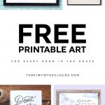 21 Free Printable Art Prints To Quickly Decorate The Barest Of Walls   Free Printable Artwork For Home