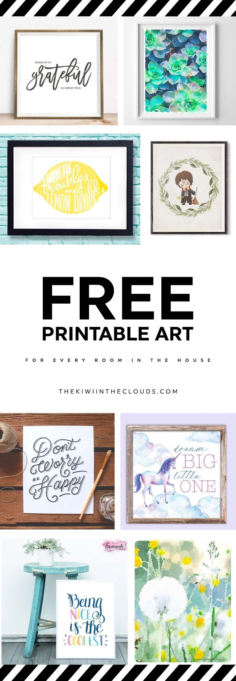 21 Free Printable Art Prints To Quickly Decorate The Barest Of Walls - Free Printable Artwork For Home
