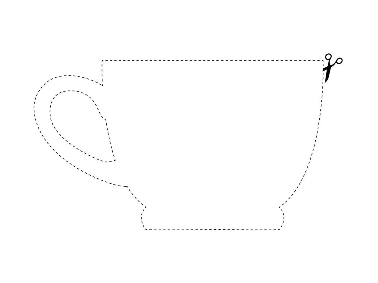 21 Images Of Victorian Free Printable Teacup Template | Jypsee - Free Printable Teacup Template