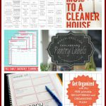 23 Free Printables To Organize Everything | Making Lemonade   Free Printables For Home