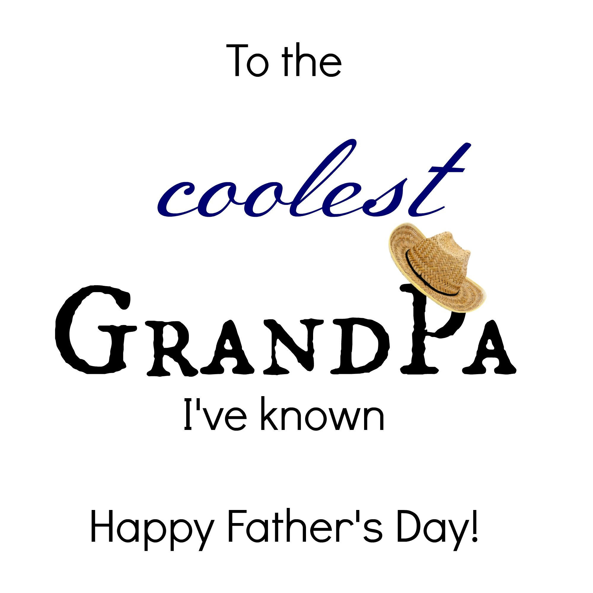 24 Free Printable Father's Day Cards | Kittybabylove - Free Printable Fathers Day Cards