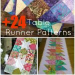 24+ Table Runner Patterns   Quilt Patterns Free Printable