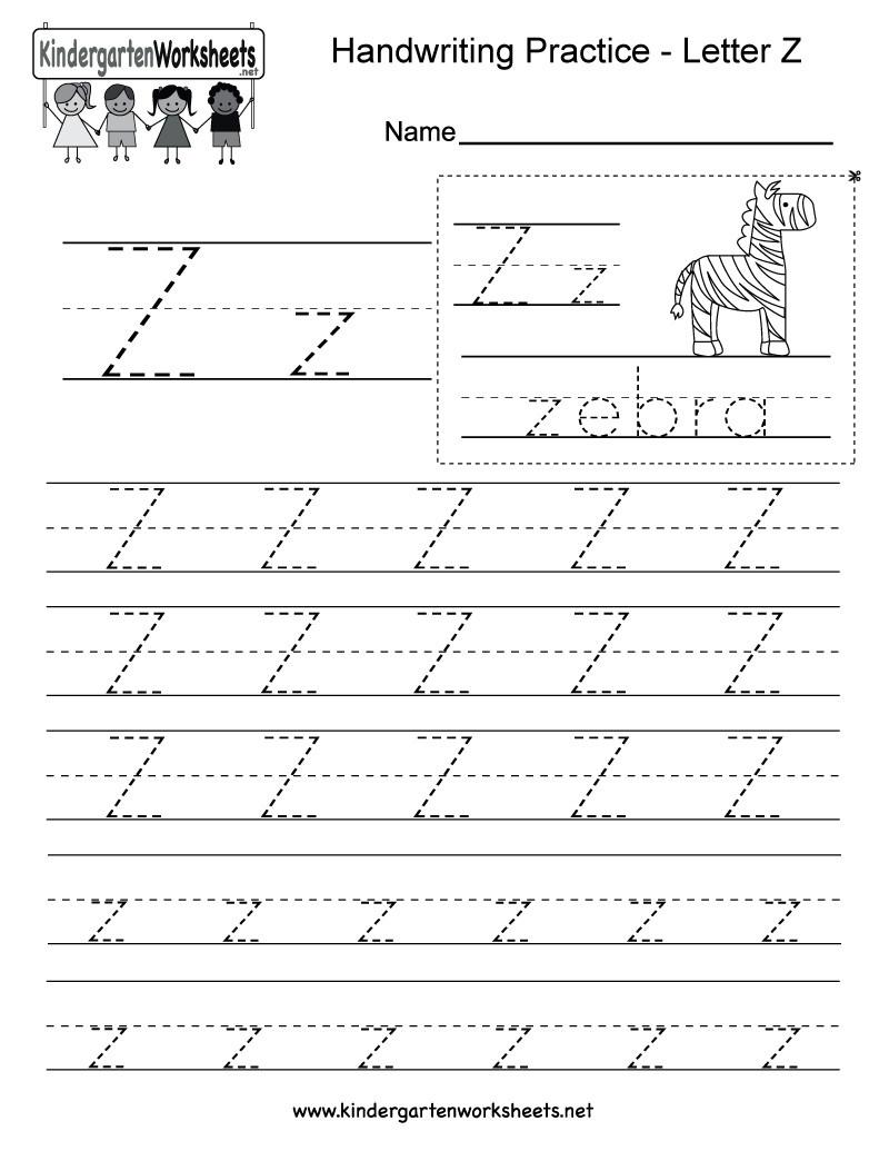 2429 Best Kindergarten Image On The Kindergarten Start With Z On The - Letter Z Worksheets Free Printable
