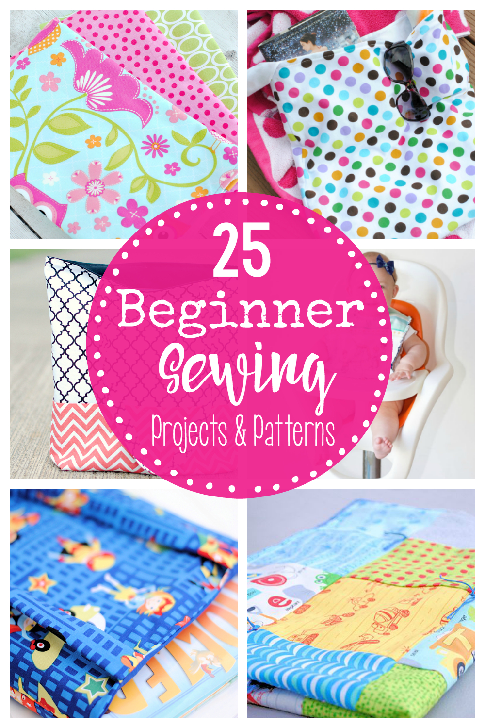 25 Beginner Sewing Projects - Free Printable Sewing Patterns For Kids
