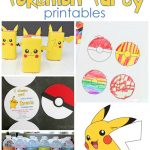25+ Free Pokemon Party Printables   Cutesy Crafts   Free Printable Pictures Of Pokemon