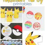 25+ Free Pokemon Party Printables   Cutesy Crafts   Free Printable Pokemon Thank You Tags