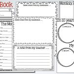 26 Images Of School Years Memory Book Template | Unemeuf   Free Printable Memory Book Templates