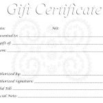 28 Cool Printable Gift Certificates | Kittybabylove   Free Printable Gift Coupons
