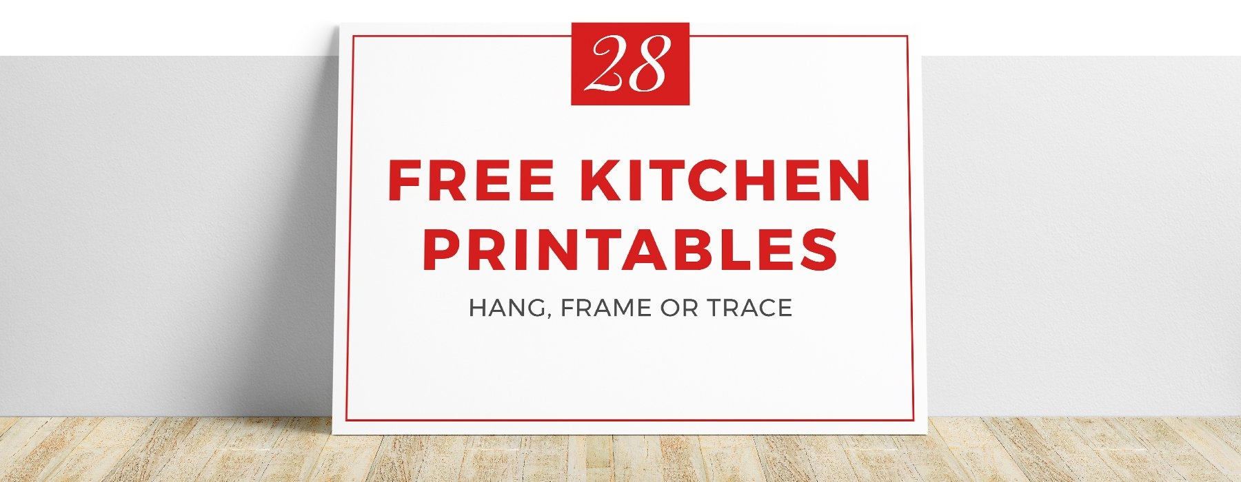 28 Free & Fun Kitchen Printables | Kitchen Cabinet Kings - Free Kitchen Printables