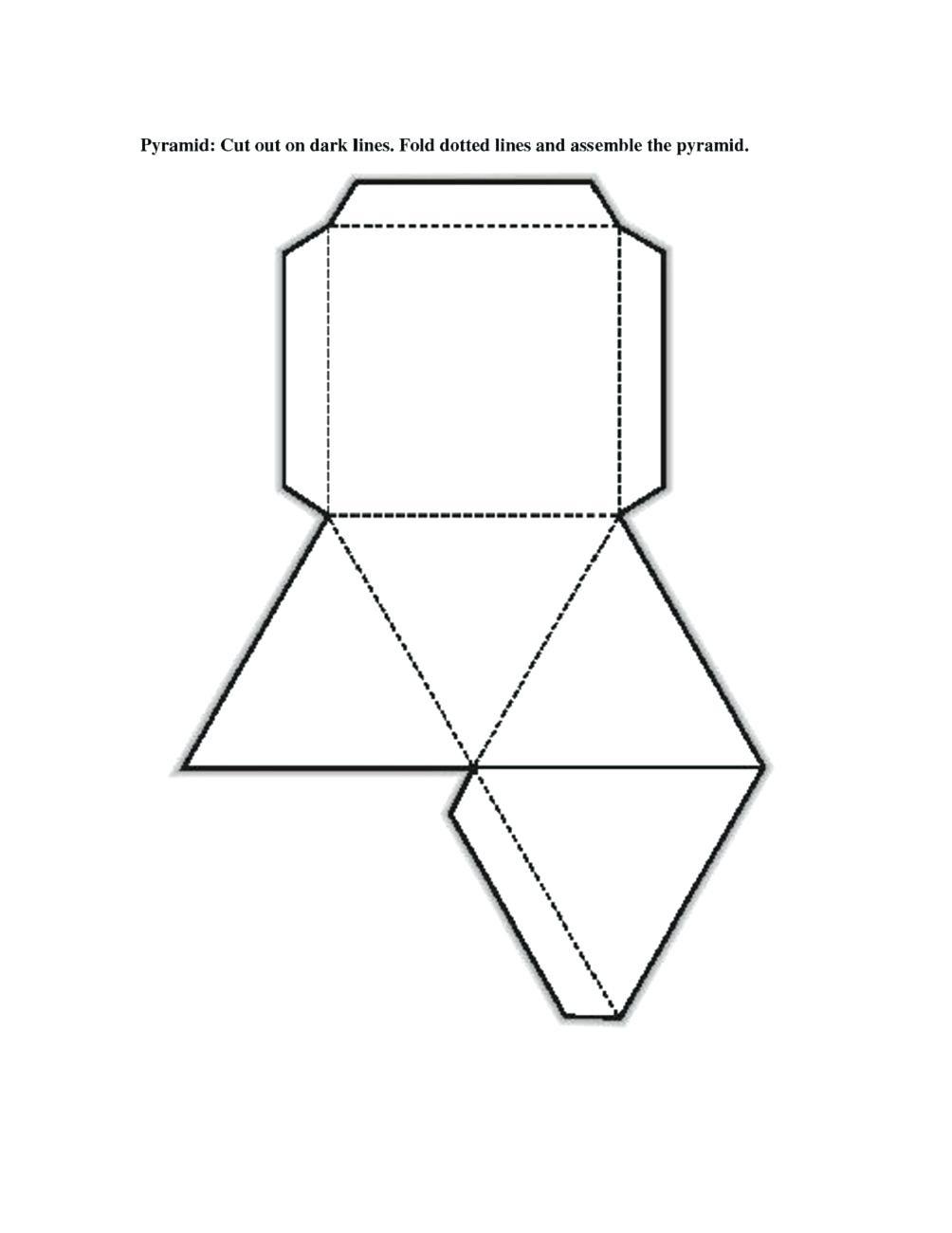 3 D Shape Printables Geometric Shapes To Print 3D Shape Printables - Free Printable Shapes Templates