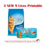 3 New 9 Lives Printable Coupons ~ Print Now!   Free Printable 9 Lives Cat Food Coupons