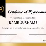 30 Free Certificate Of Appreciation Templates And Letters   Free Printable Volunteer Certificates Of Appreciation