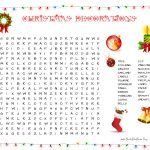 31 Free Christmas Word Search Puzzles For Kids   Christmas Find A Word Printable Free