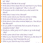 31 Fun Writing Prompts For Middle School • Journalbuddies   Free Printable Writing Prompts For Middle School