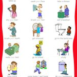 33 Printable Visual/picture Schedules For Home/daily Routines.   Free Printable Picture Schedule For Preschool