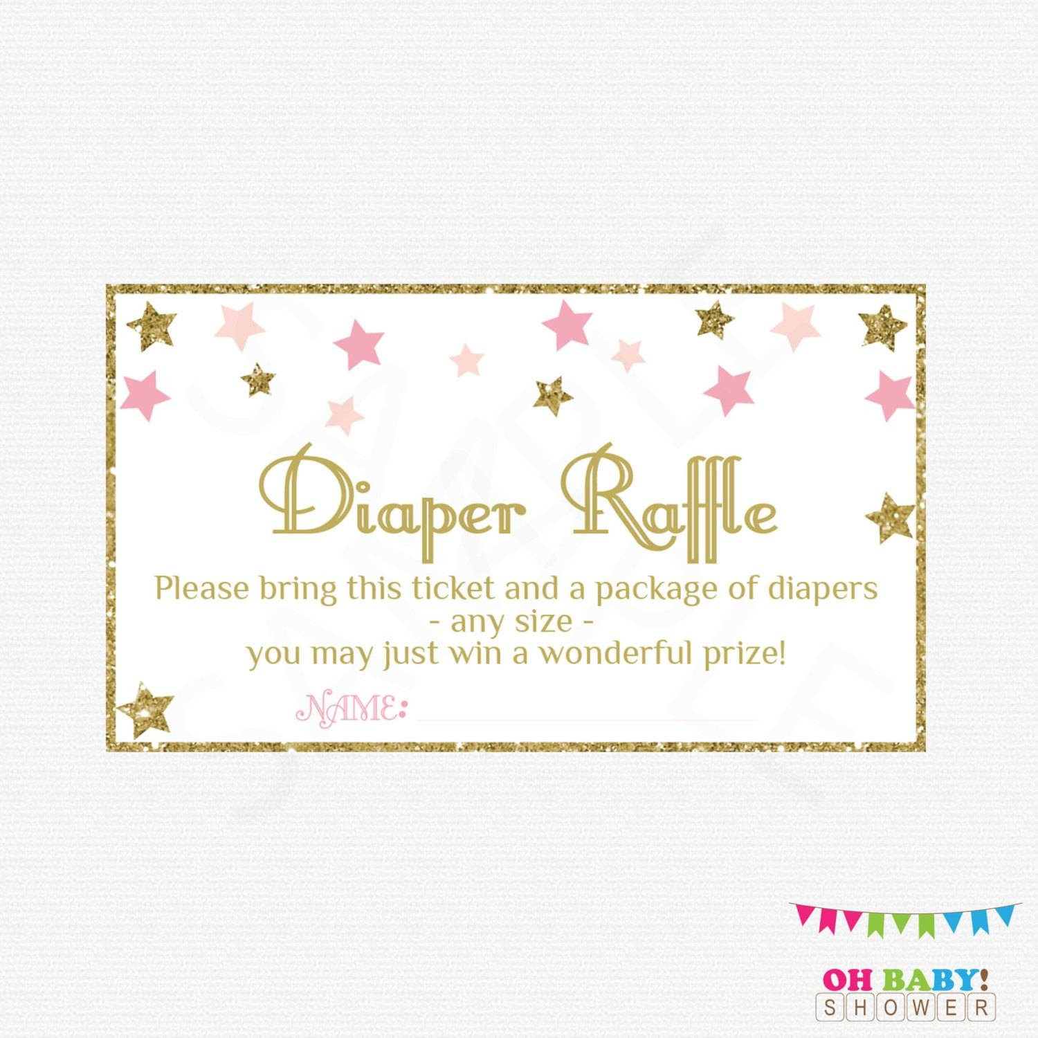 36 Cute Diaper Raffle Tickets | Kittybabylove - Free Printable Diaper Raffle Sign