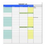 40 Free Timesheet / Time Card Templates ᐅ Template Lab   Free Printable Time Tracking Sheets