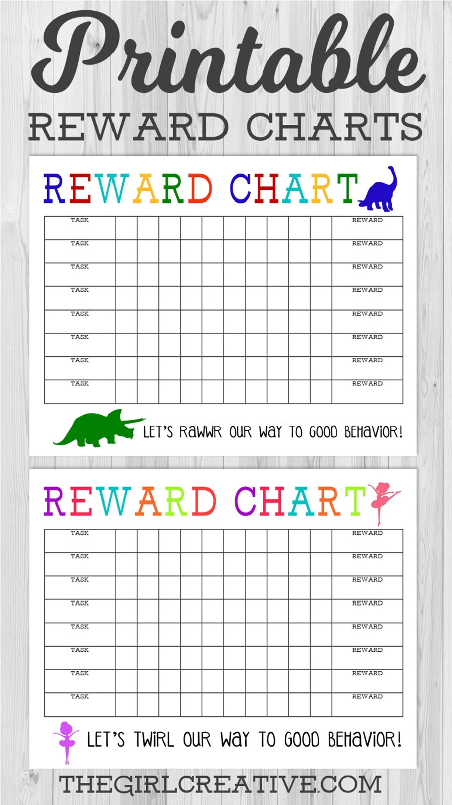 40 Printable Reward Charts For Kids (Pdf, Excel & Word) - Free Printable Sticker Charts