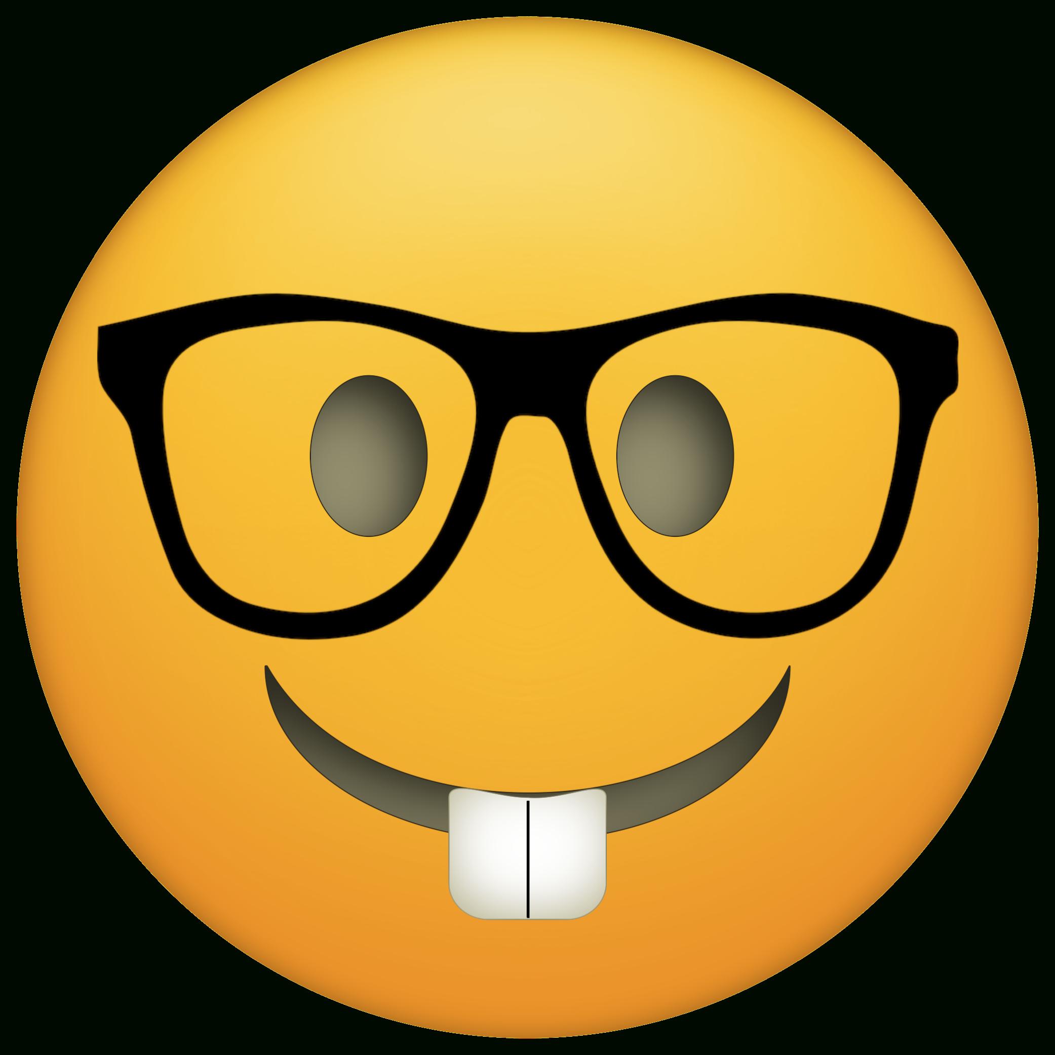 44 Awesome Printable Emojis | Kittybabylove - Free Emoji Printables
