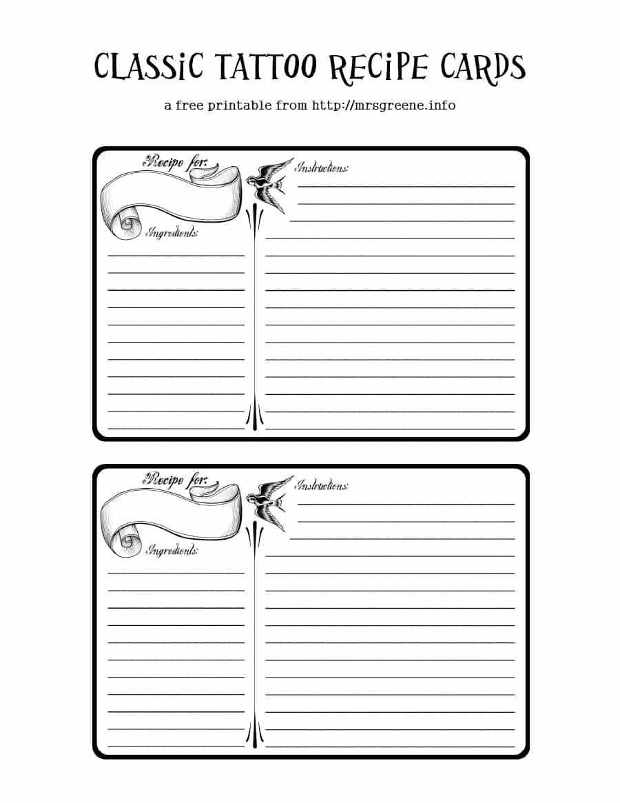 44 Perfect Cookbook Templates [+Recipe Book & Recipe Cards] - Create Your Own Free Printable Cookbook