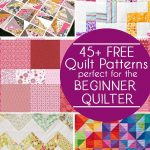 45 Free Easy Quilt Patterns   Perfect For Beginners   Scattered   Quilt Patterns Free Printable