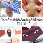 45+ Free Printable Sewing Patterns For Kids | Printable Sewing   Free Printable Sewing Patterns For Kids
