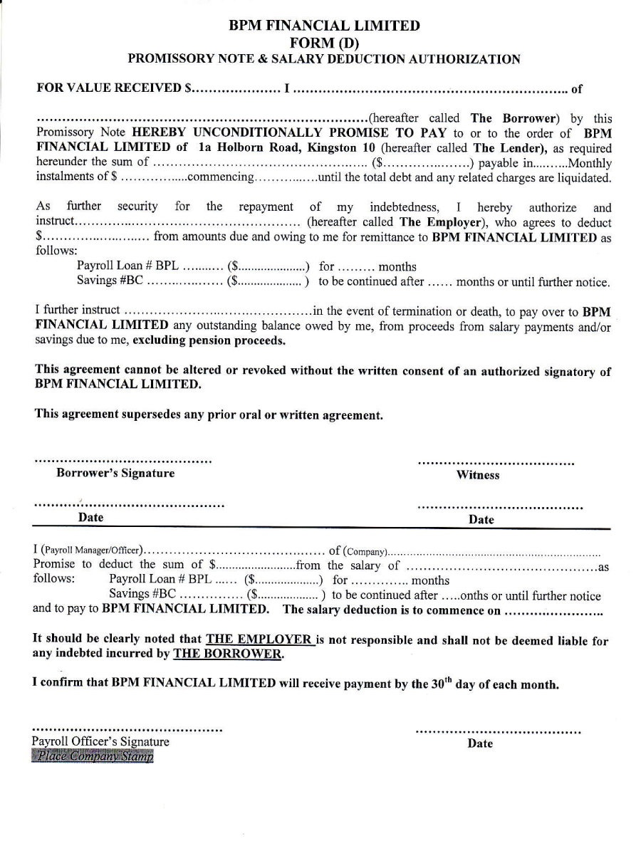 45 Free Promissory Note Templates & Forms [Word & Pdf] ᐅ Template Lab - Free Printable Promissory Note