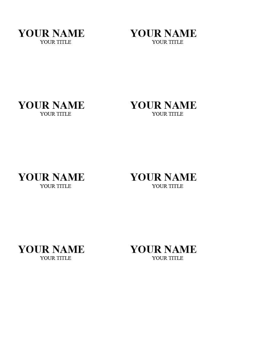47 Free Name Tag + Badge Templates ᐅ Template Lab - Free Printable Name Tags