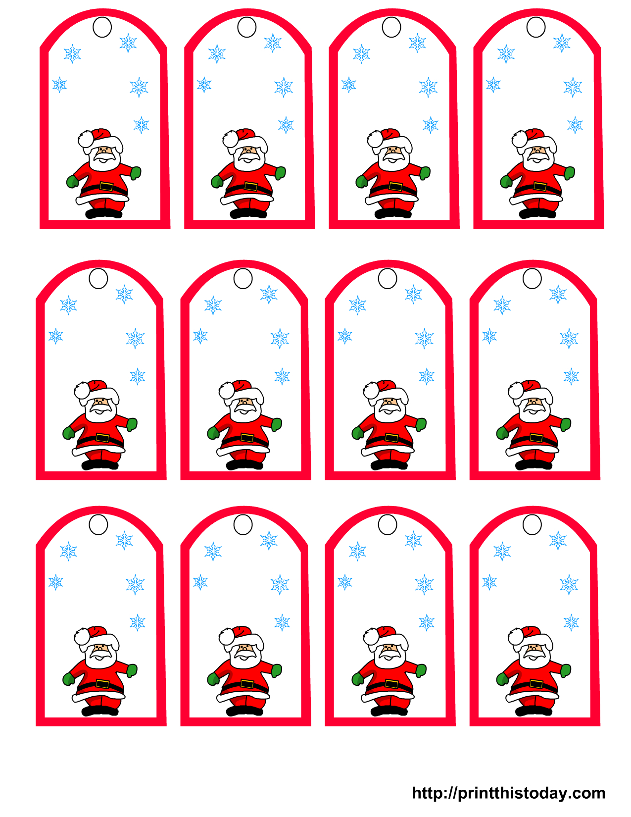 47 Free Printable Christmas Gift Tags (That You Can Edit And - Free Printable Christmas Gift Tags
