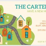 49 Free Change Of Address Cards (Moving Announcements)   We Are Moving Cards Free Printable