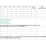 49 Handy Running Log Templates (+Walking Charts) ᐅ Template Lab   Free Printable Running Log