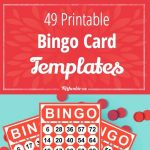 49 Printable Bingo Card Templates | Printables | Free Bingo Cards   Free Bingo Patterns Printable