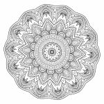 5 Free Printable Coloring Pages: Mandala Templates   Free Mandalas To Colour In Printable