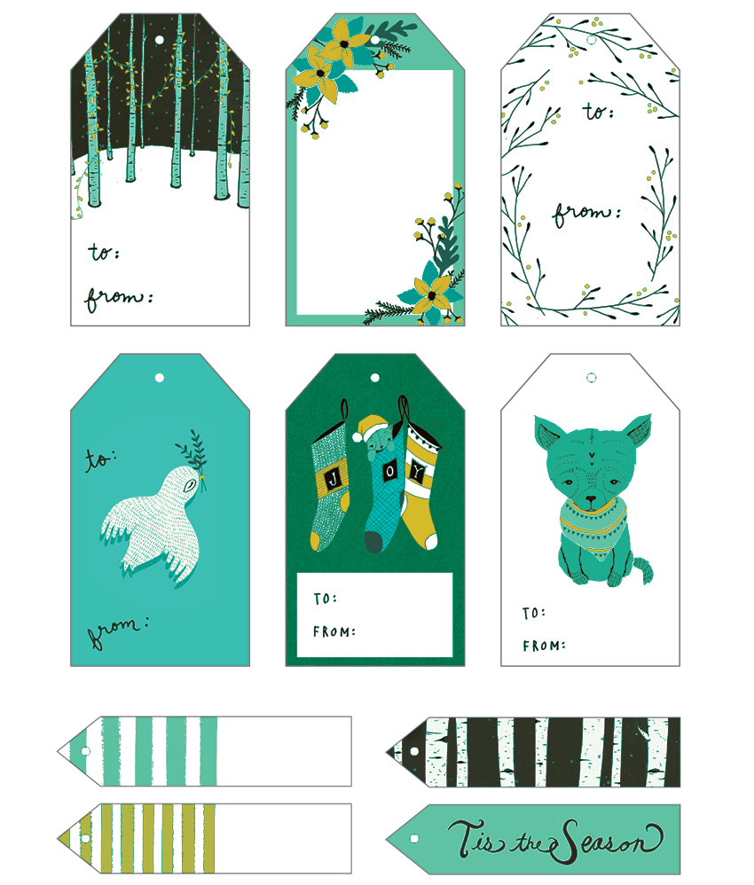 5+ Gift Tag Templates To Create A Personalized Gift Tag - Printable Gift Tags Customized Free