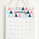 50+ 2017 Free Printable Calendars | Crafty | 2018 Printable Calendar   Free Printable Agenda 2017