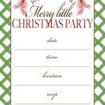 50 Beautiful Slumber Party Invitations | Kittybabylove   Free Printable Personalized Christmas Invitations