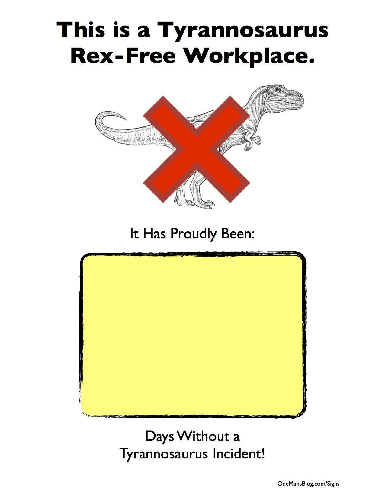 50+ Free Funny Signs (To Print Out And Post!) - Free Printable Funny Office Signs