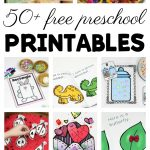 50+ Free Preschool Printables For Early Childhood Classrooms   Free Printable Preschool Job Chart Pictures