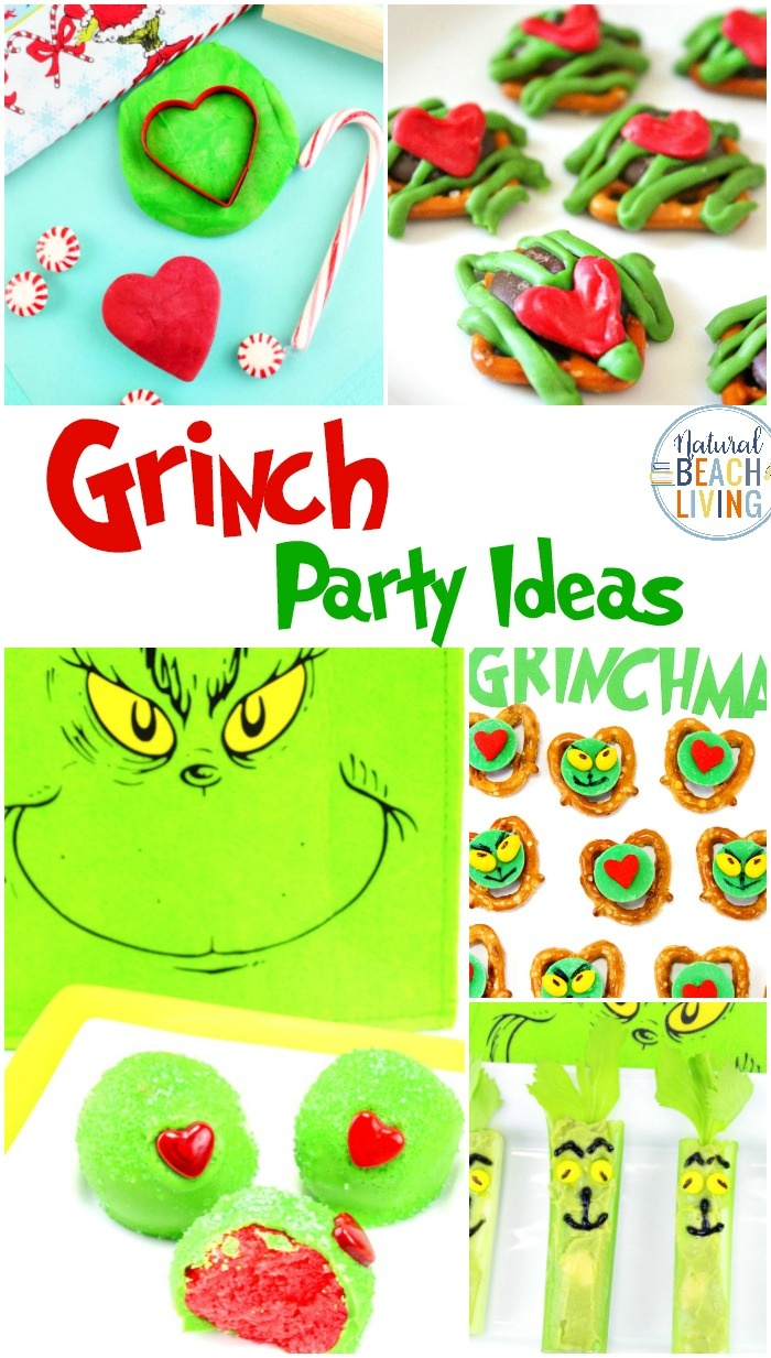 50+ Grinch Activities And Party Ideas - Natural Beach Living - Free Grinch Printables