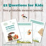 52 Questions For Children: Free Printable Template For A Q&a Journal   Free Printable Facebook Template