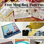 53 Free Mug Rug Patterns And Placemat Patterns | Sewing Tutorials   Free Printable Placemat Patterns