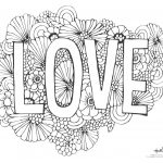 543 Free, Printable Valentine's Day Coloring Pages   Free Printable Valentine Coloring Pages